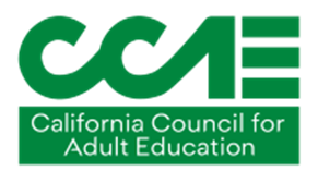 California Council for Adult Education (CCAE) logo